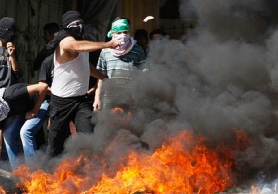 Riots Palestinian