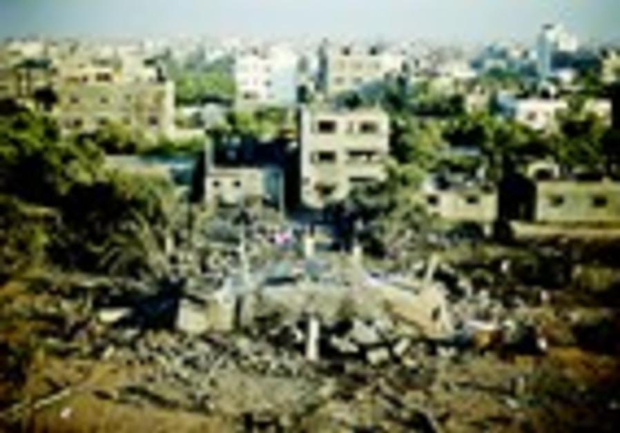 maison à Gaza