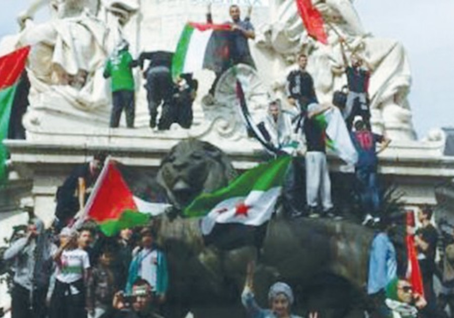 anti israel paris
