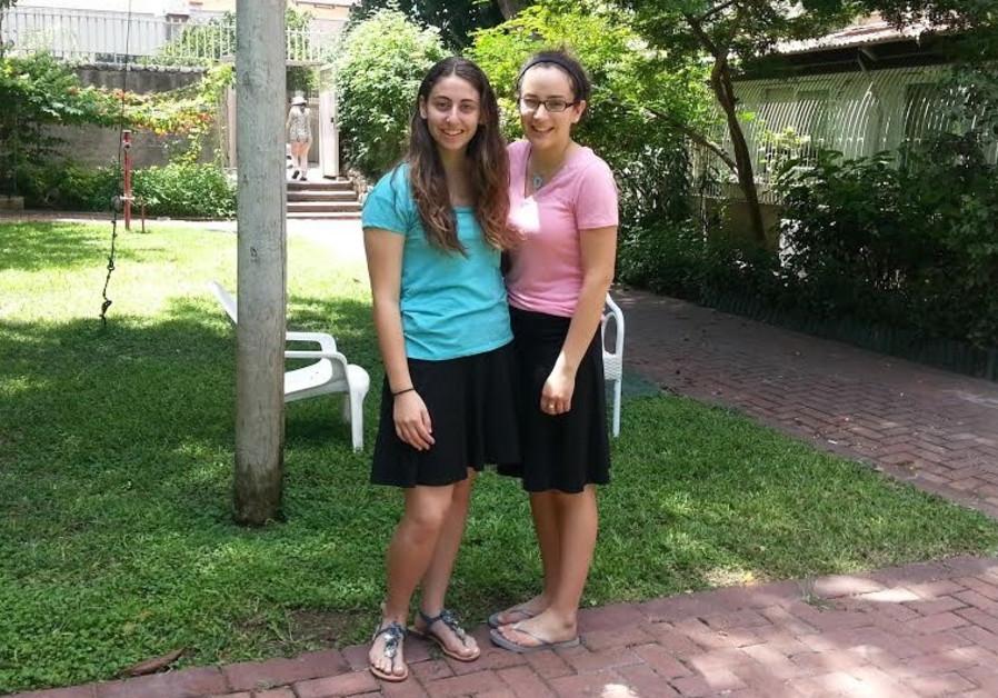 Lauren Schechter and Dina Fleyshmakher
