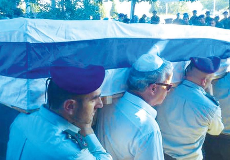 Funeral of Lt.-Col. Dolev Keidar