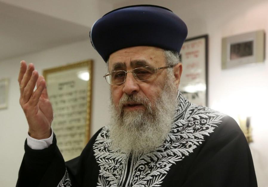 Rabbi Yitzhak Yossef