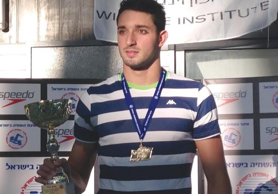 Israeli swimmer Or Sabatier