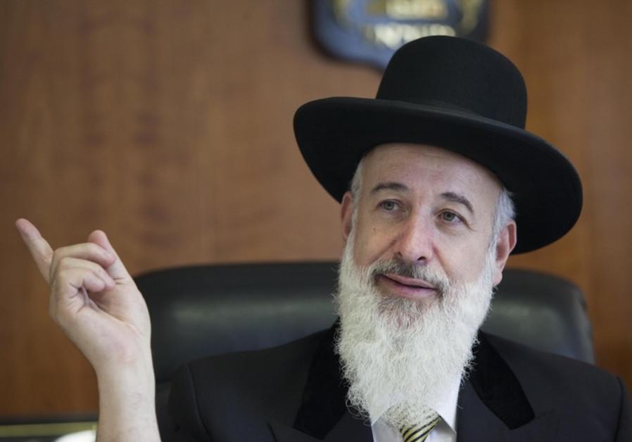 Rabbi Yona Metzger