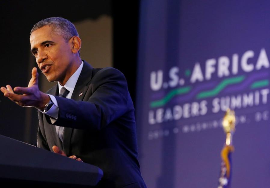 U.S. President Barack Obama holds news conference