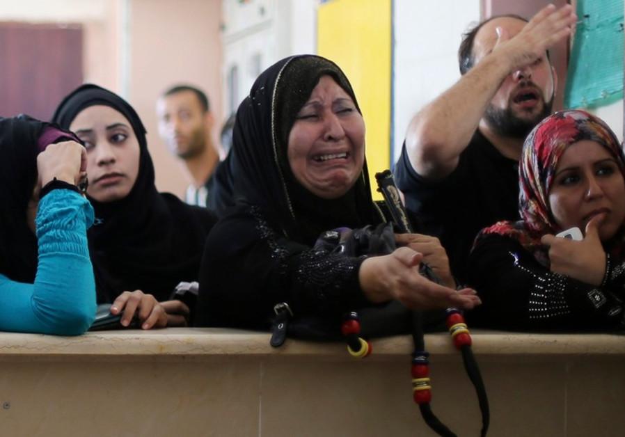 Palestinians in Rafah