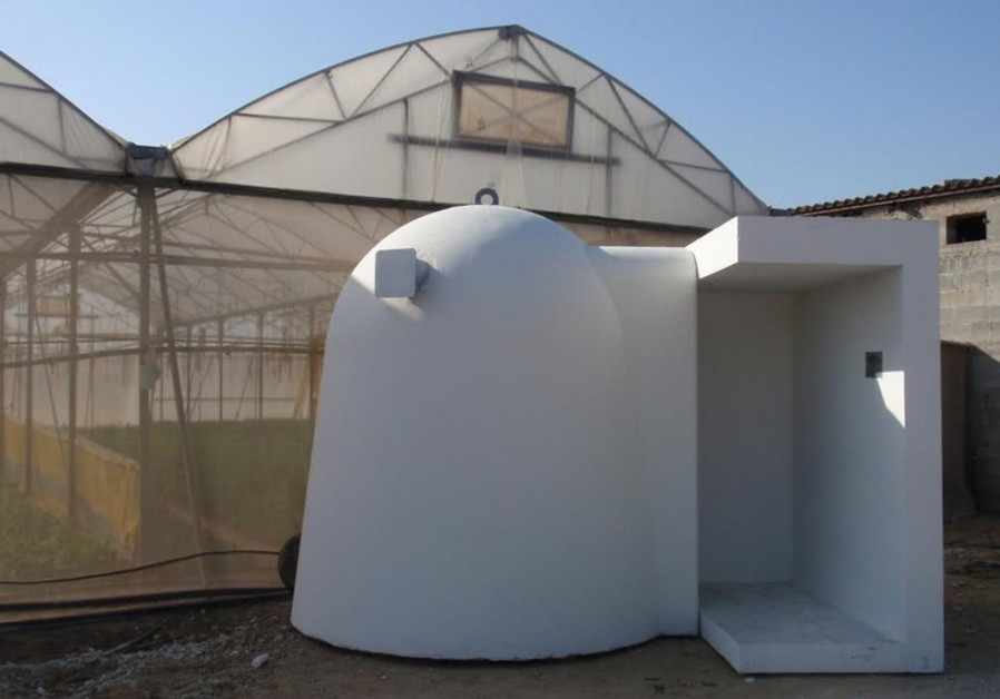 bomb shelters