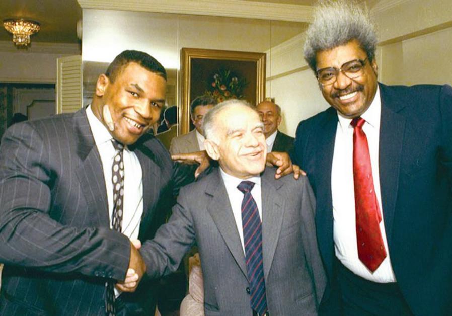 Mike Tyson Yitzhak Shamir and Don King