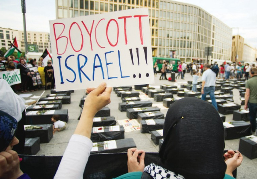 Anti-Israel protest in Berlin