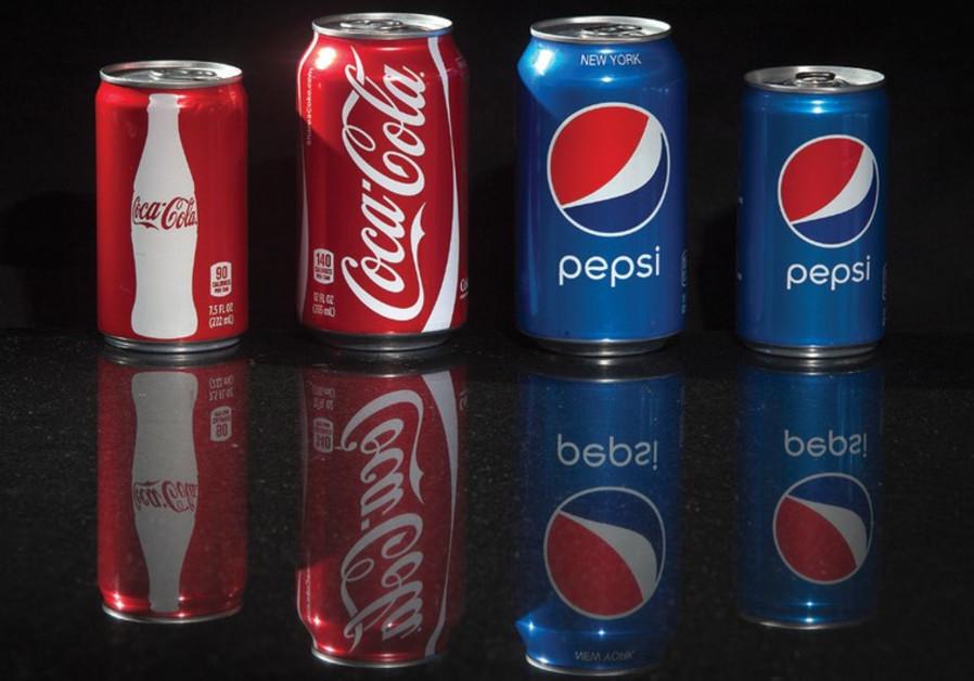 Pepsi and Coca-Cola.