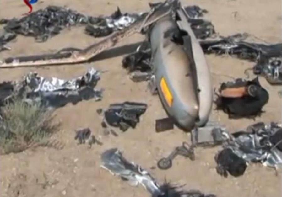 Iran displays alleged Israeli spy drone