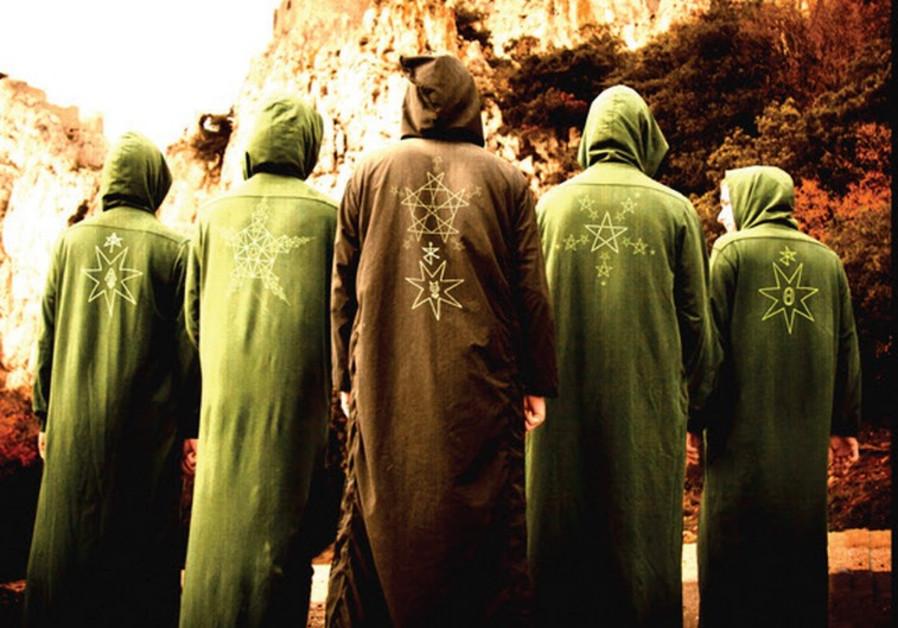 The Secret Chiefs 3 rock concert in Tel Aviv