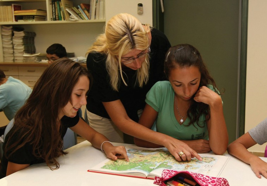 Shortage of classrooms in the Arab and haredi sectors