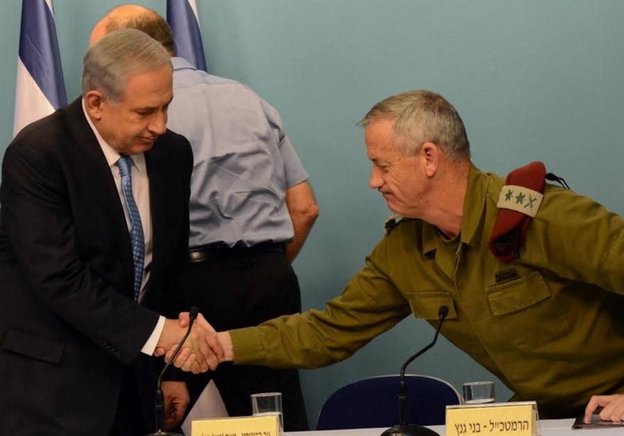 Netanyahu and Gantz