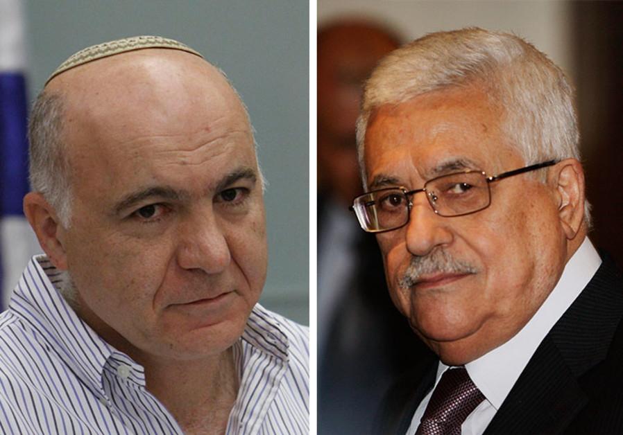 Yoram Cohen and Abu Mazen