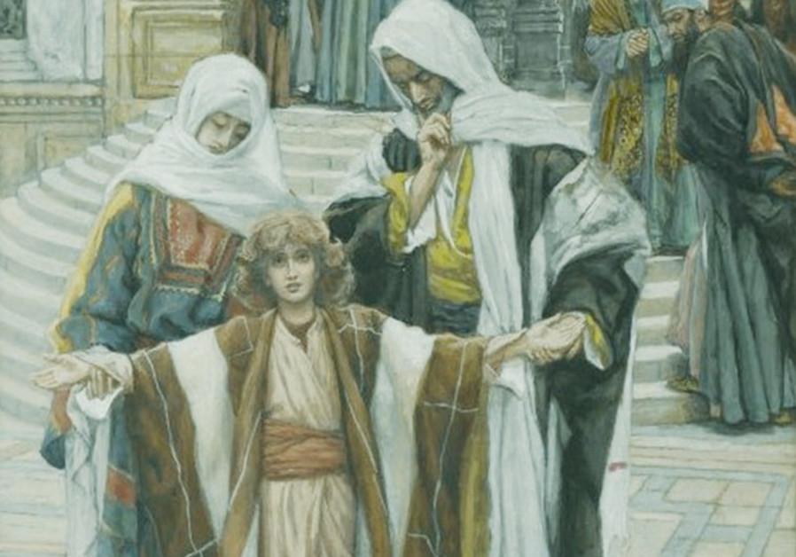 'Jesus found in the Temple' Book