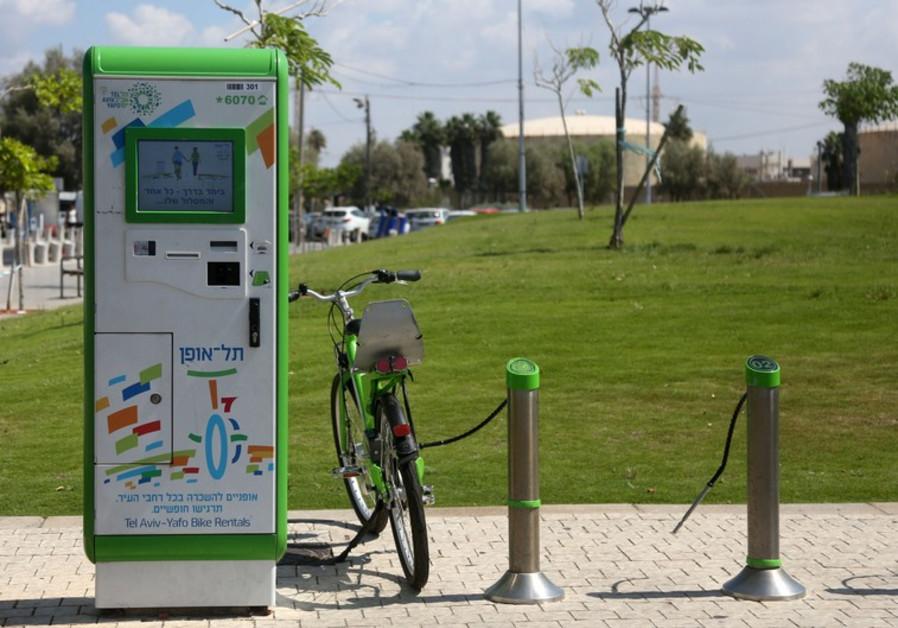 Bike rental in Tel Aviv