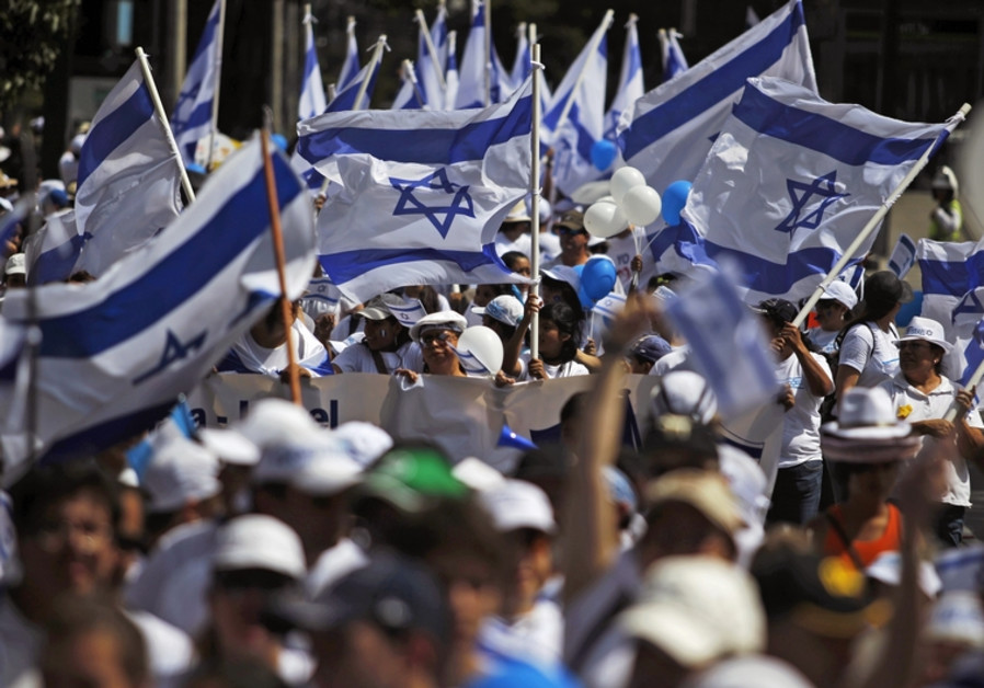 Pro israel demonstration