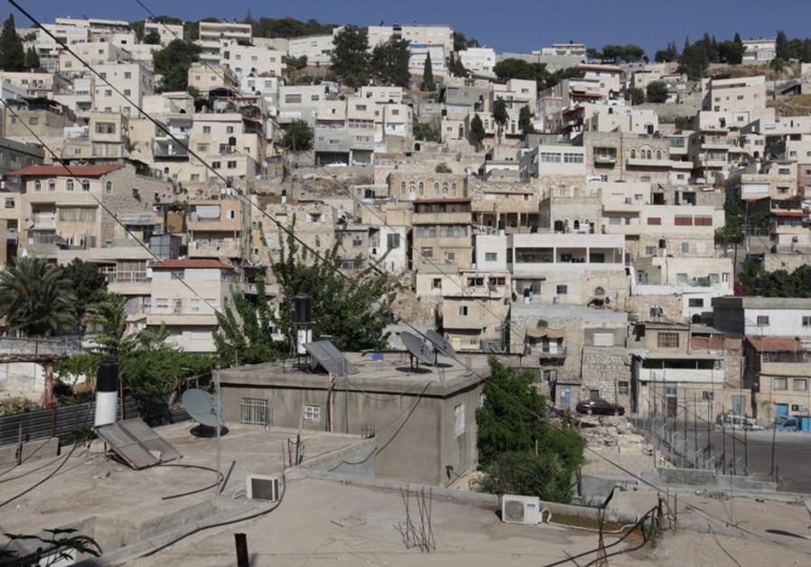 East Jerusalem's Silwan neighborhood