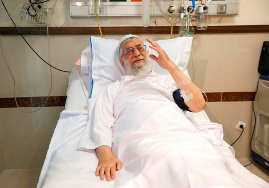 Khamenei in the hospital