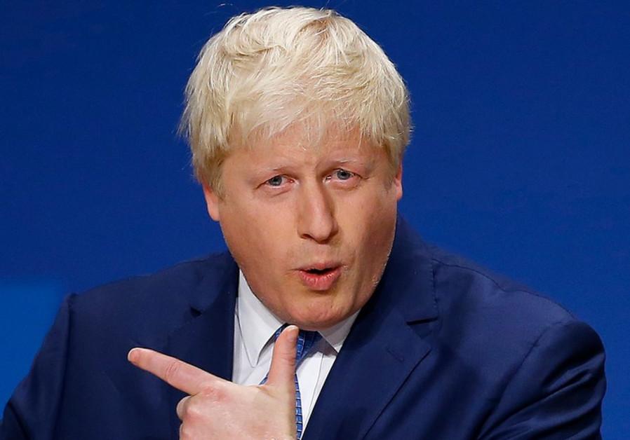 UK Foreign Secretary Boris Johnson