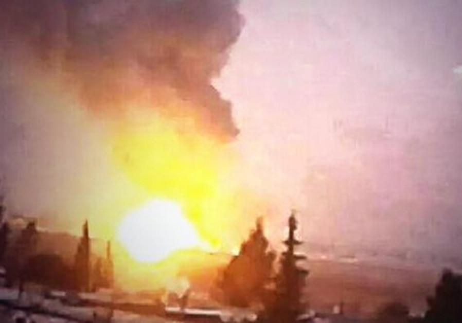 Alleged Israeli strike on Syria