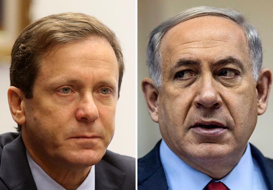 Netanyahu and Herzog
