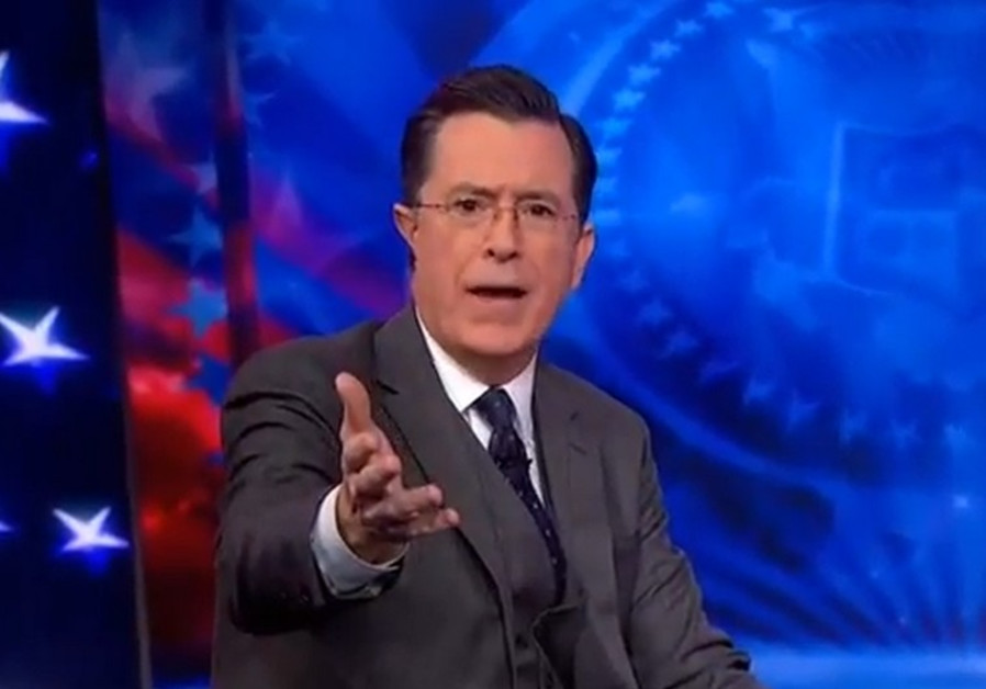 Stephen Colbert Gives Nazi Salute to Trump on 'Late Show'