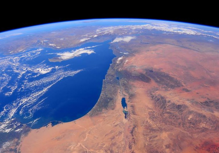 Israel from space 1
