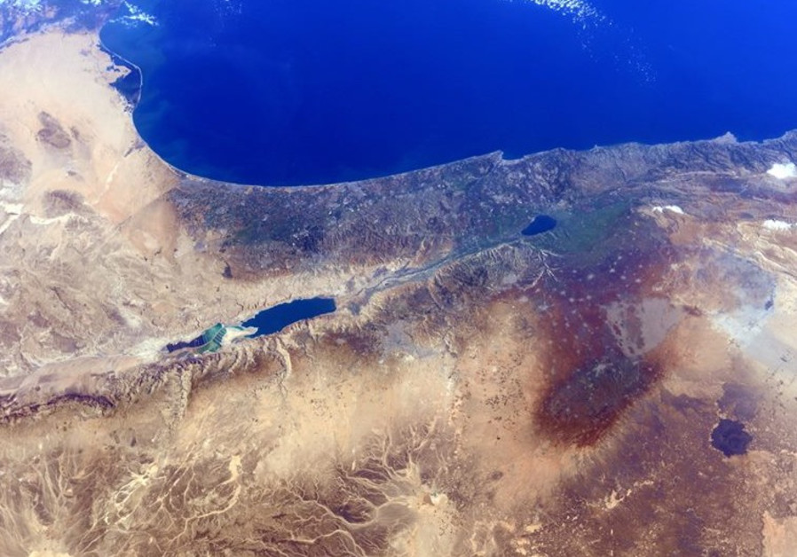 Israel from space 4