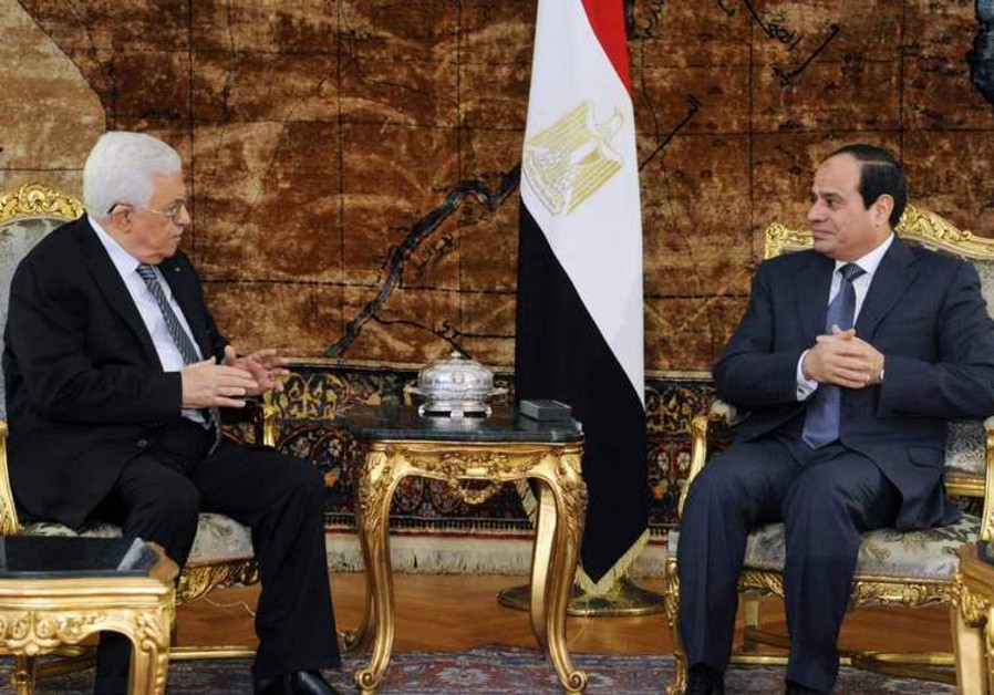 Egypt's Shoukry, Palestinian Authority's Abbas discuss latest efforts to revive peace process
