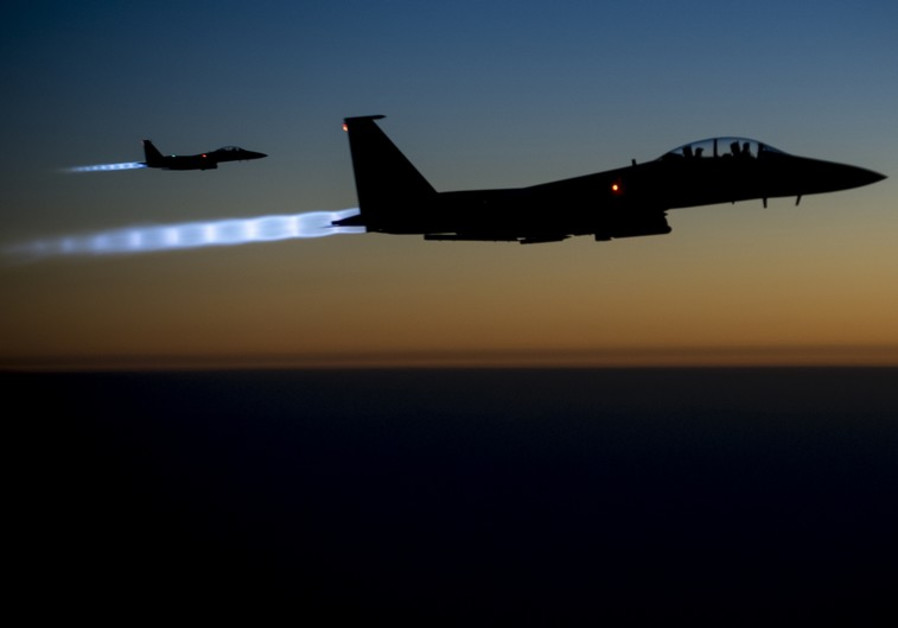US fighter jets over Syria
