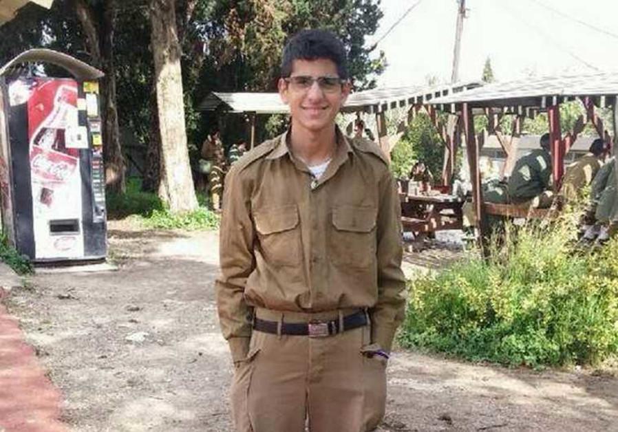 Mohammed Zoabi in uniform