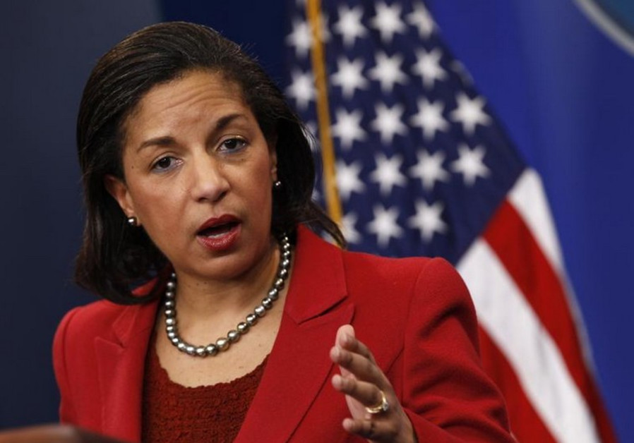 US national security advisor Susan Rice