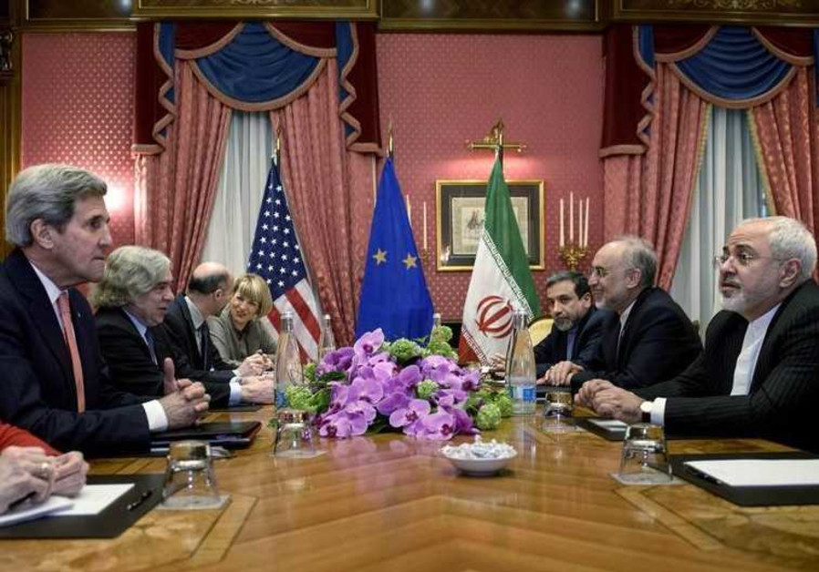 US and Iranian negotiators meet in Lausanne for nuclear talks