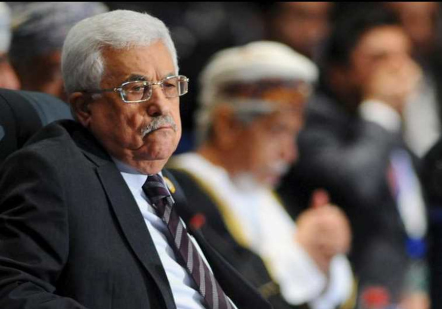 Palestinian Authority President Mahmoud Abbas attends the opening meeting of the Arab Summit in Shar