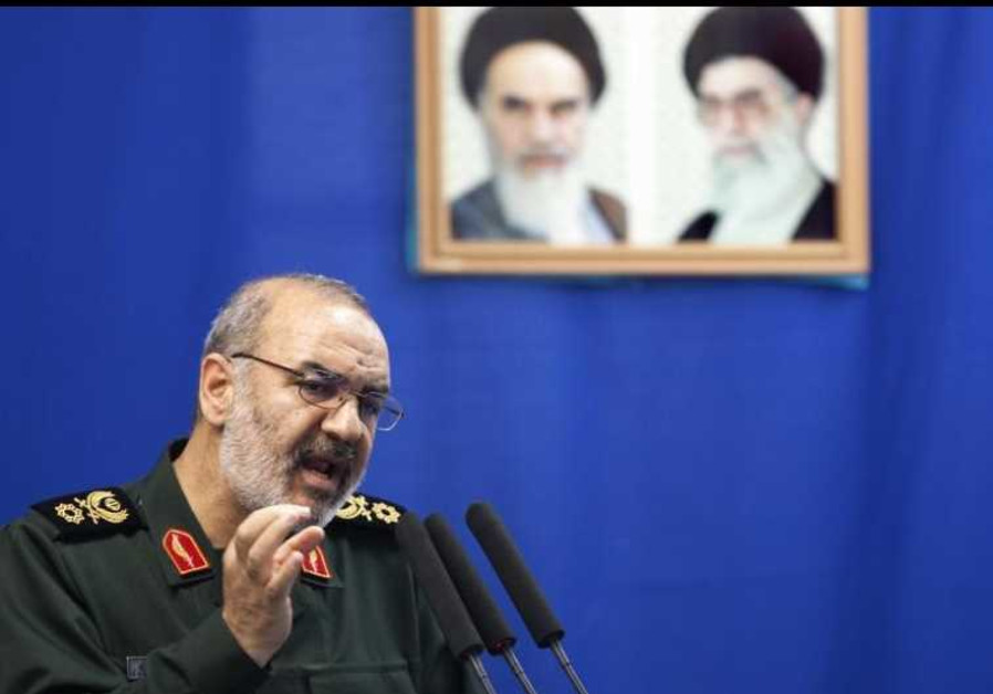 Hossein Salami, deputy head of Iran's Revolutionary Guard
