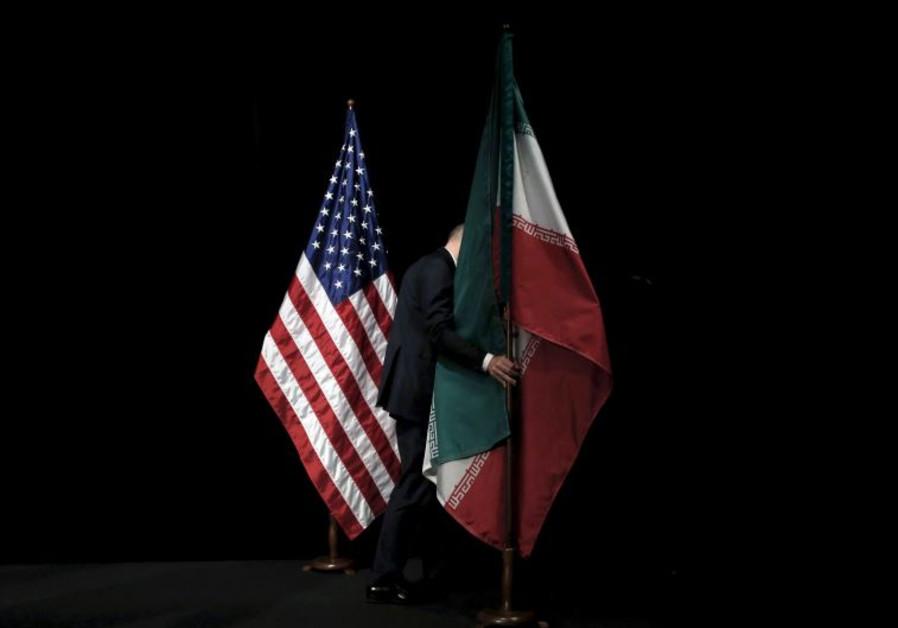 us iran flag
