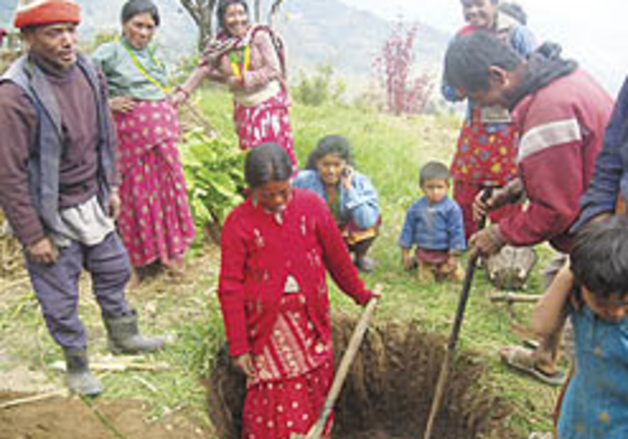 Tevel b'Tzedek brings sustainable agriculture to Nepal... and back again