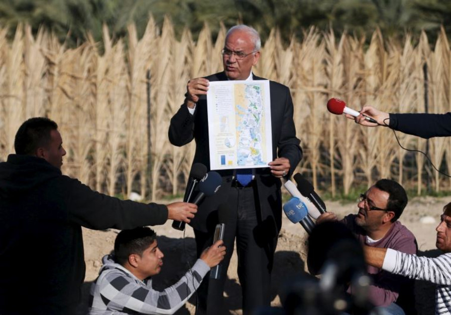 Saeb Erekat, the secretary-general of the Palestine Liberation Organization