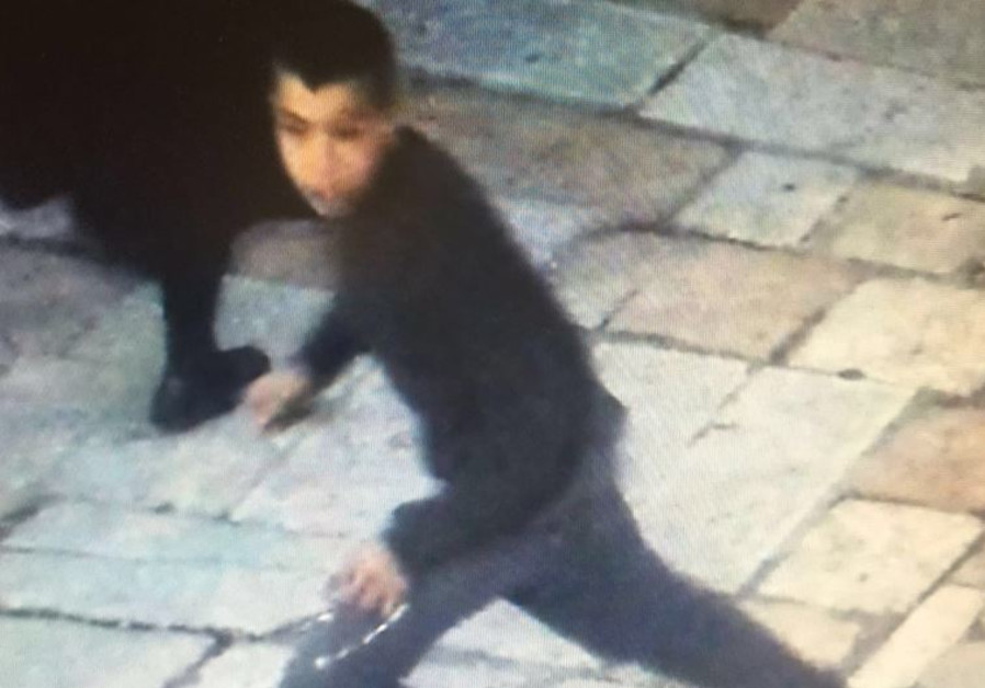 Palestinian suspect in stabbing of Israeli teen in the Old City of Jerusalem