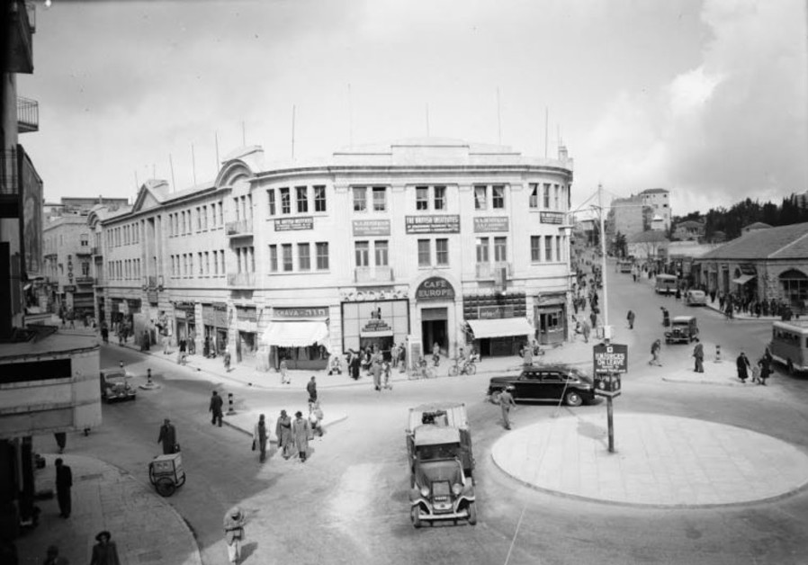 AN IMAGE of Zion Square circa 1939.