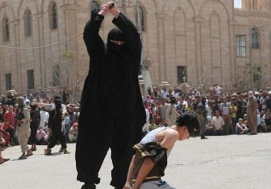 ISIS operative decapitates a young boy