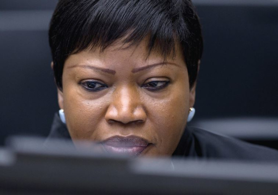 PROSECUTOR FATOU BENSOUDA waits for the start of trial.