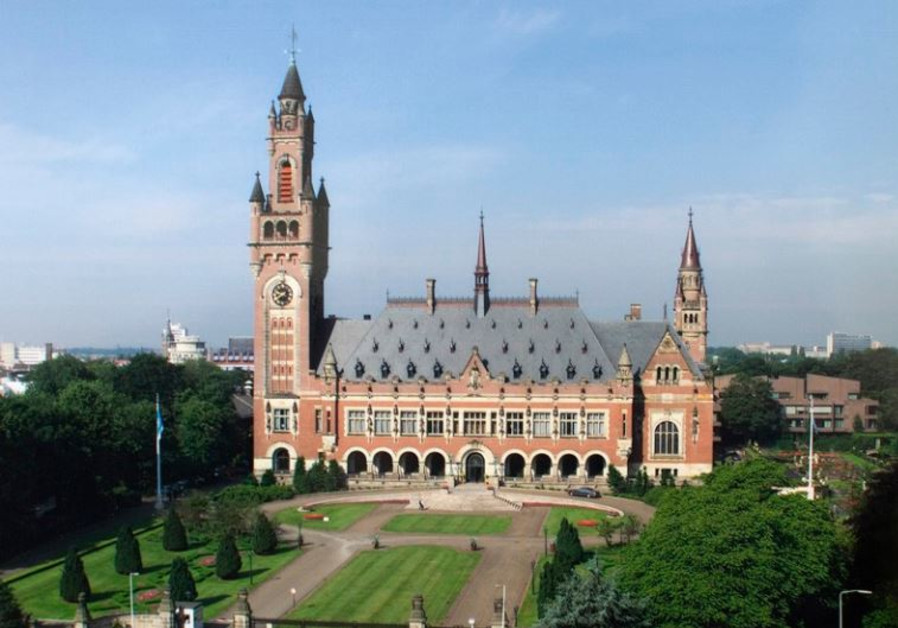 "Seat of the Permanent Court of Arbitration: The Peace Palace (""Vredespaleis""), The Hague."