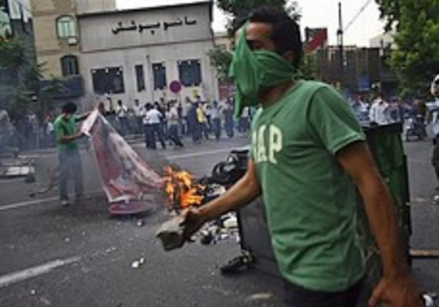 Hackers take Iran's civil war online