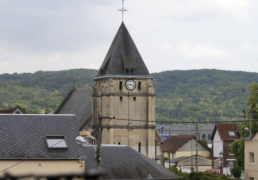 ISIS militants attack church in Normandy, France