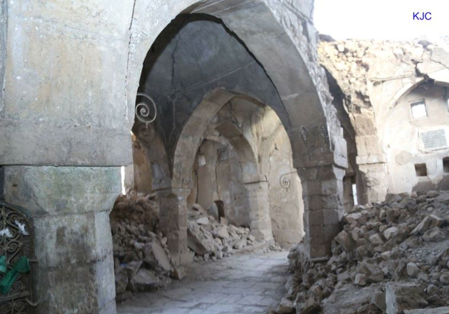 The tomb of the Prophet Nahum and his sister Sara