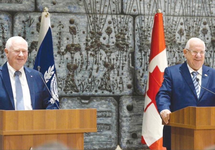 Canadian Governor-General David Johnston