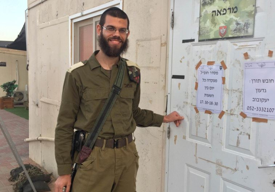 Shmuel Sokolik, the Israeli army's only ultra-Orthodox combat doctor.